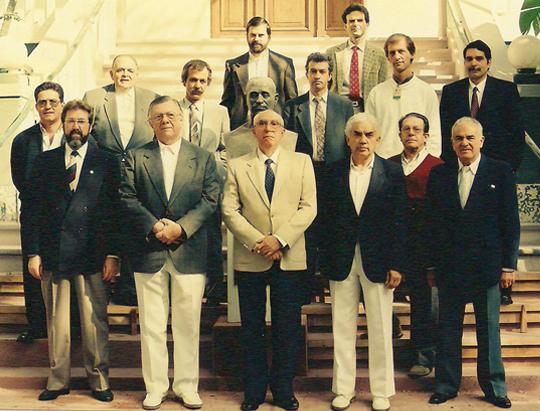 Professores da Disciplina de Neurologia Clínica 1993